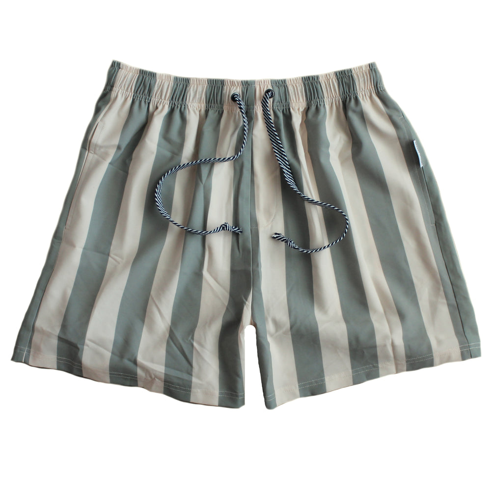 Duke of London | Boardies - Olive Stripe
