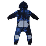 *PRESALE* Duke of London | Hooded Onesie - Blue Black