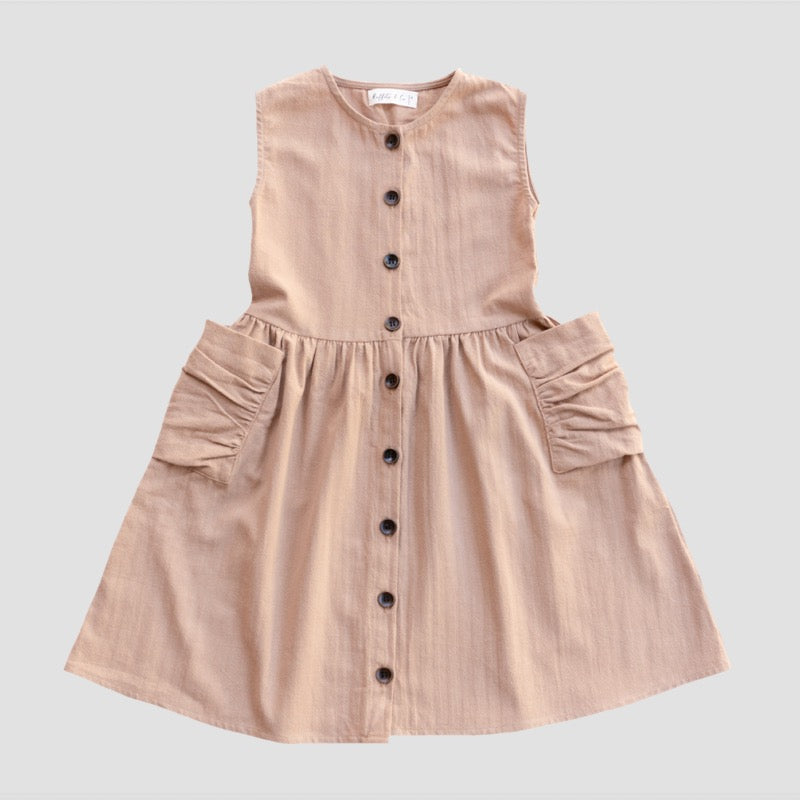 Ruffets and Co | Miranda Dress - Sand