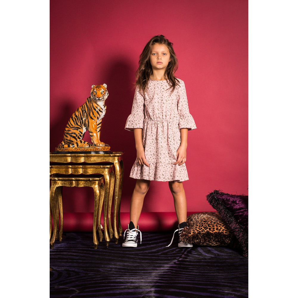 Hootkid | All Rosie Day Dress - Dusty Pink Floral