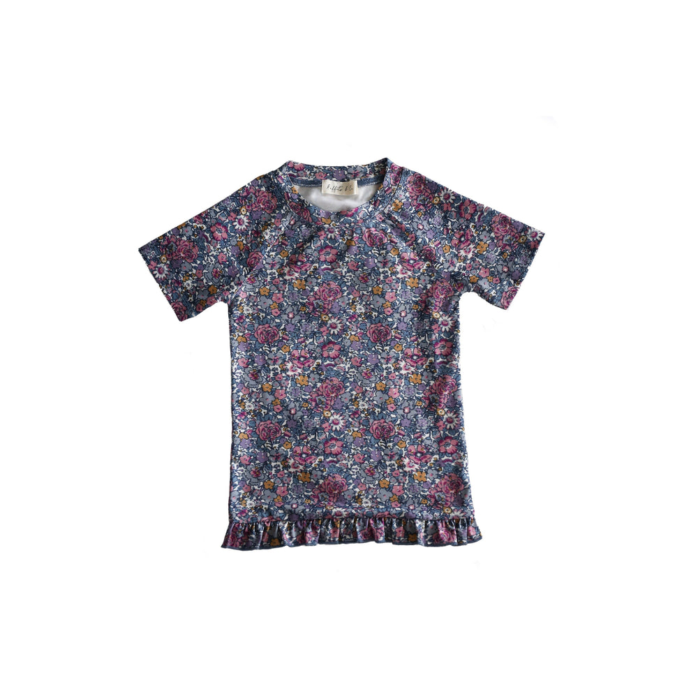 Ruffets and Co | Mina Rash Top - Floral