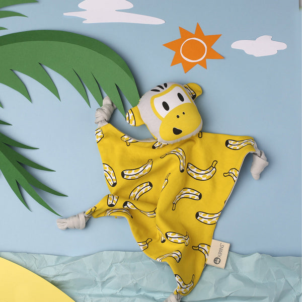 Kippins | Splits Kippin Cuddle Blankie - Golden Yellow - LAST ONE