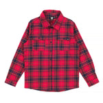 Alphabet Soup | Paramount Shirt - Red/Navy Check