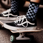 Alphabet Soup | All Good Sock - Black/Grey