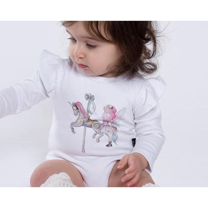 Aster & Oak | Unicorn & Fairy Flutter Onesie - LAST TWO