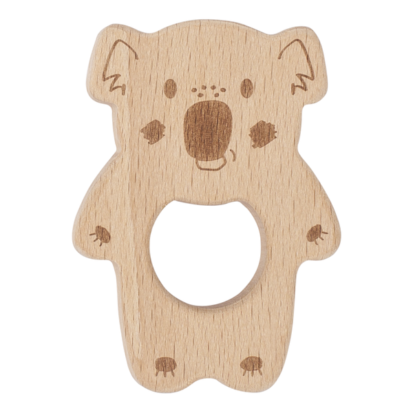 KIPPINS | Banjo Kippin Natural Beech Wood Teething Toy