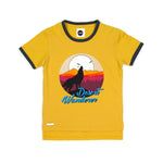SUDO | Sunset Wolf Tee - Golden Sun
