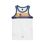 SUDO | Highway Singlet - Retro White