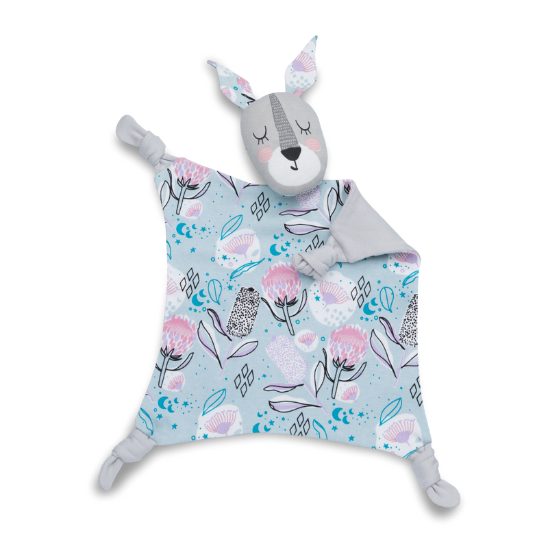 Kippins | Banksi Kippin Organic Cotton Cuddle Blankie