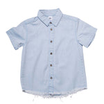 He and Her The Label | Chambray Resort Shirt - LAST TWO