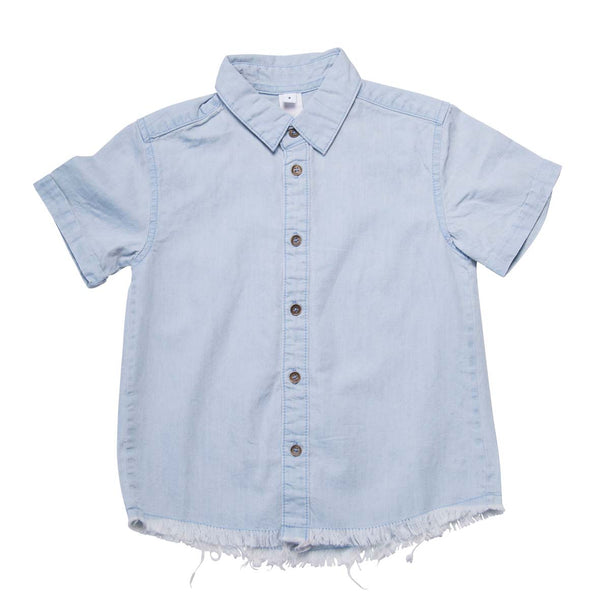 He and Her The Label | Chambray Resort Shirt