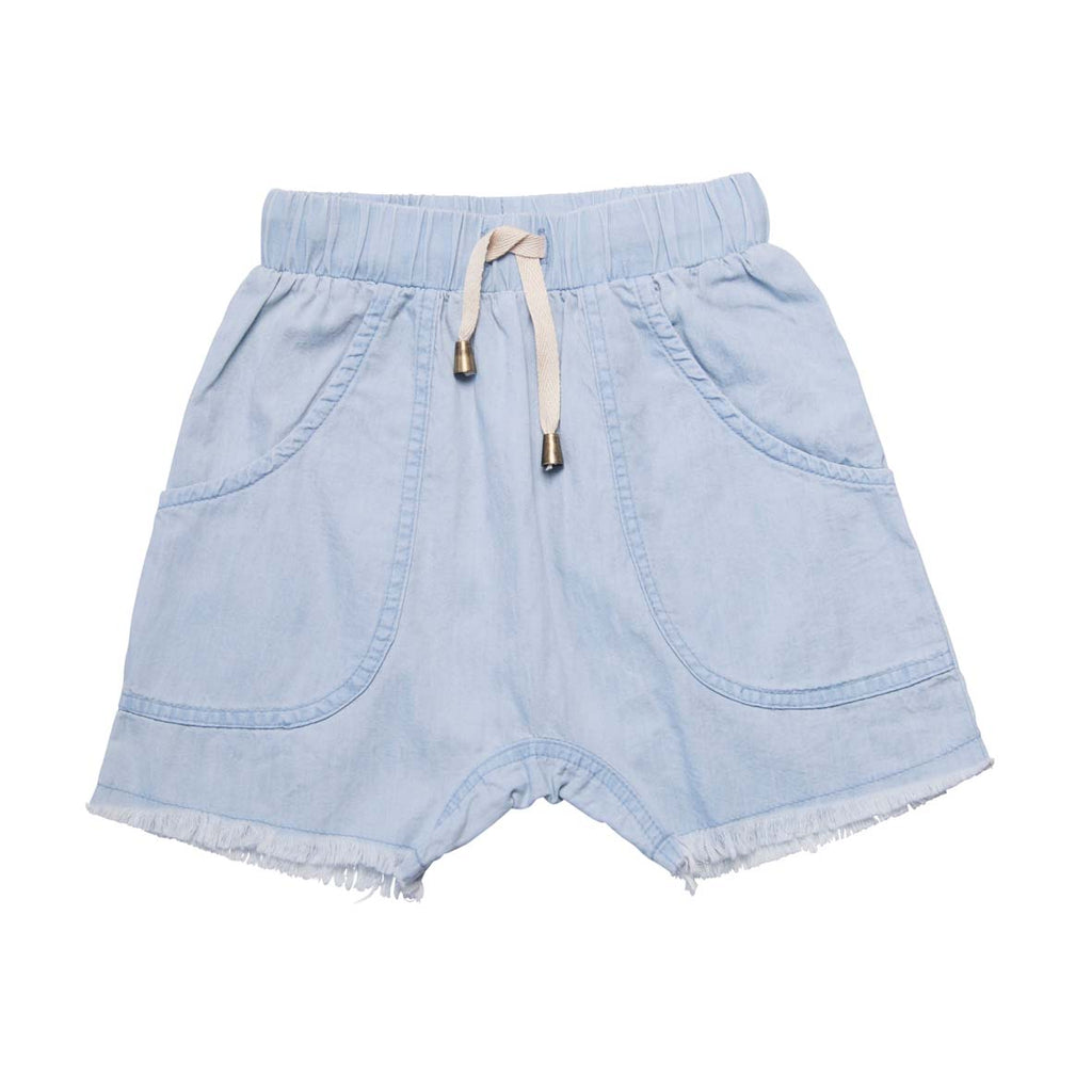He and Her The Label | Chambray Short