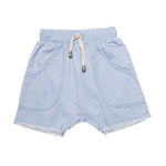 He and Her The Label | Chambray Short - Size 4Y LAST ONE