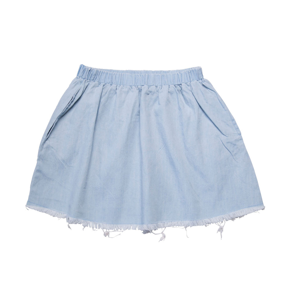 He and Her The Label | Chambray Skirt