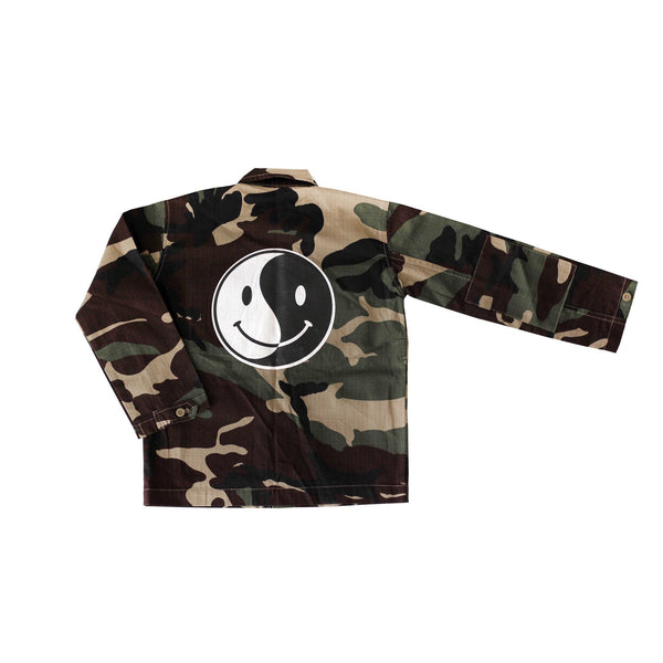 Doo Wop Kids | Camo Windbreaker