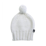 Anarkid | Knitted Chunky Pom Pom Beanie - Lily White - LAST TWO