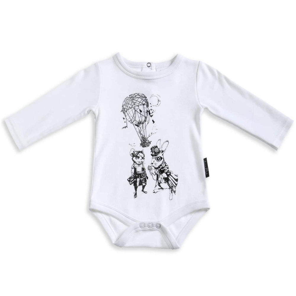 Aster & Oak | Air Balloon & Pilots LS Onesie