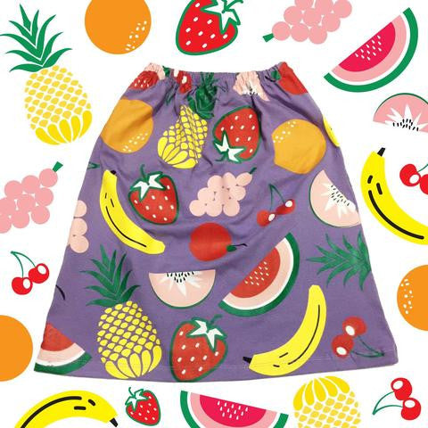 Doo Wop Kids | Fruity Pop 3/4 Skirt
