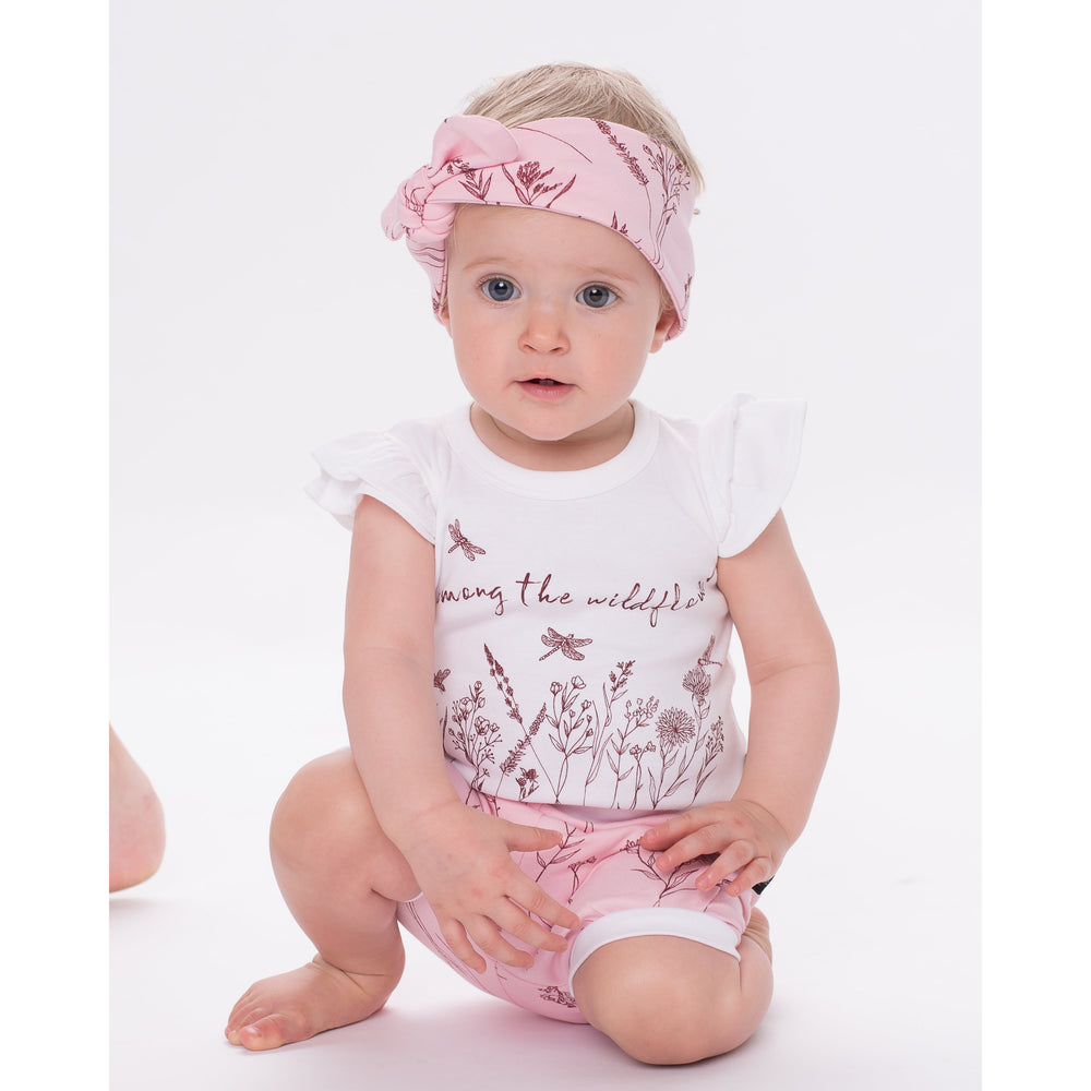 Aster & Oak | Wildflower Topknot Headband - Size 3+yrs LAST ONE