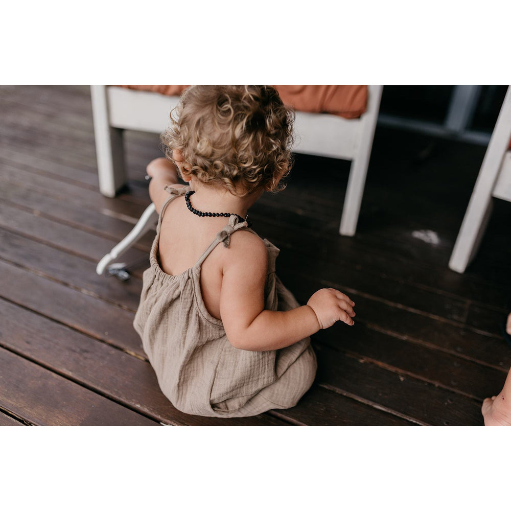 Duke of London | In Bloom Romper - Mud