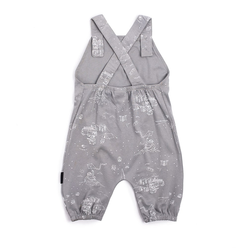 Aster & Oak | Adventure Sloth Harem Jumpsuit