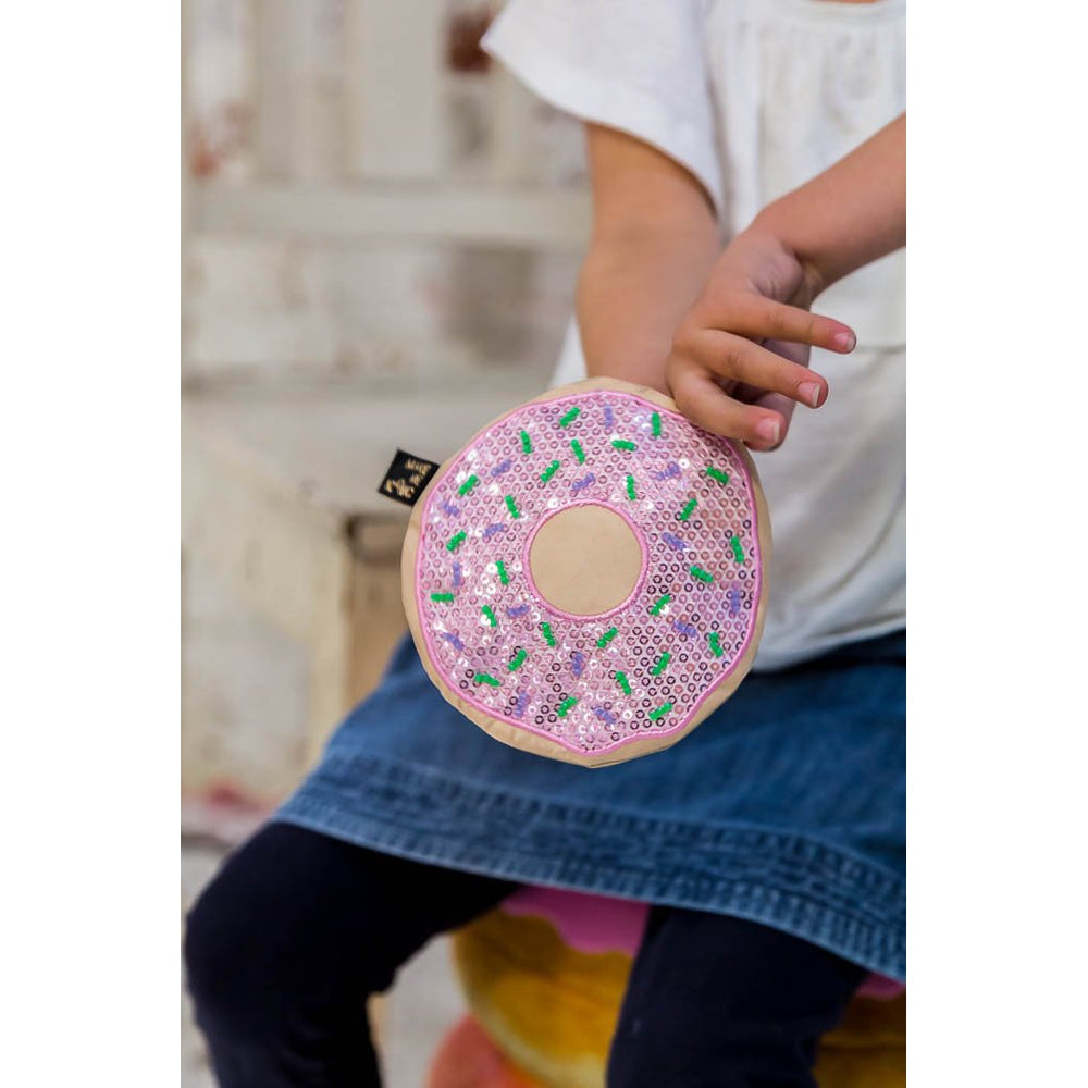 Make Me Iconic | Sequin Purse - Donut