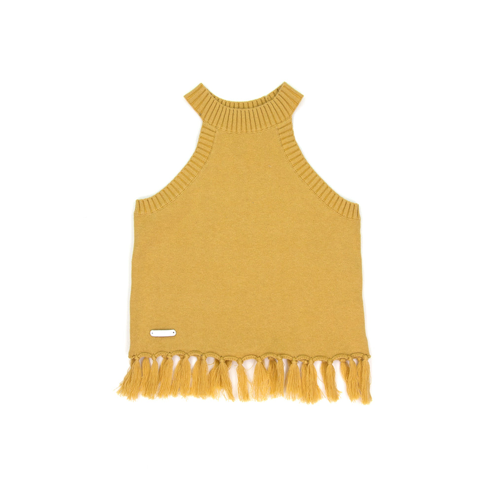 SUDO | Penny Fringe Top - Golden Sun