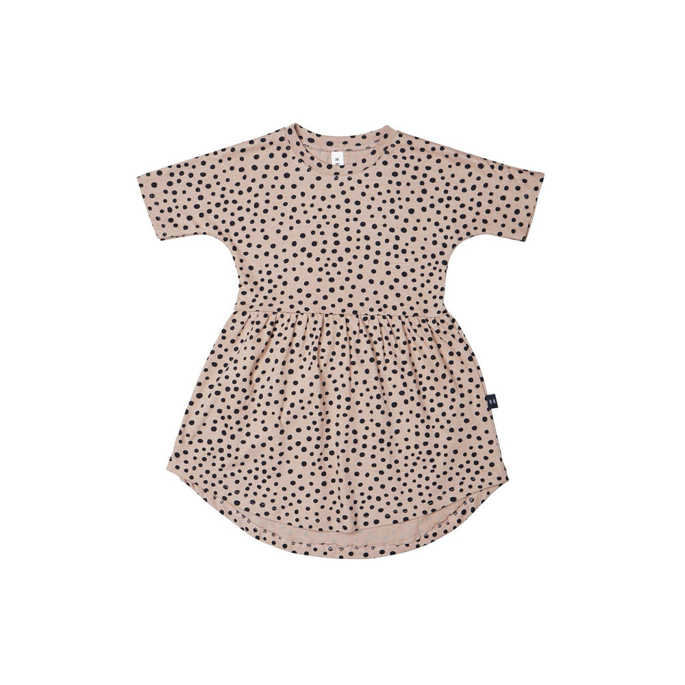 Huxbaby | Freckle Swirl Dress - Camel