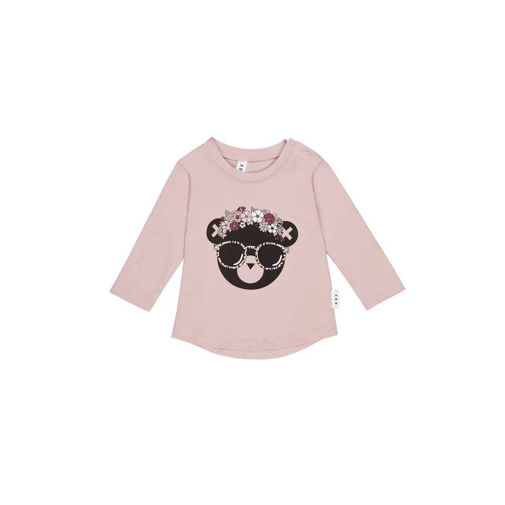 Huxbaby | Floral Hux Top - Blush - LAST TWO