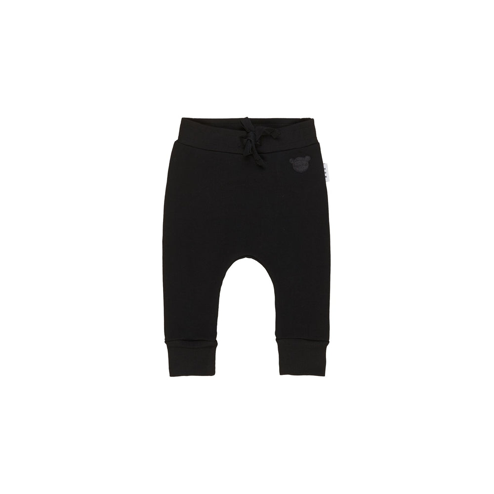 Huxbaby | Black Drop Crotch Pant