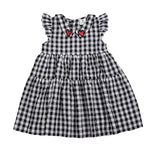 Hootkid | Alice Dress - Black Check