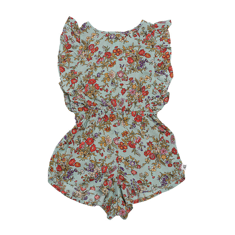 Hootkid | Daydreamer Playsuit - Garden Party Floral - LAST TWO