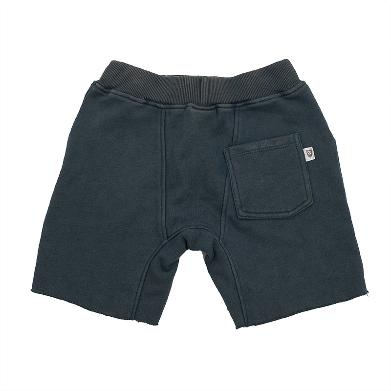 Hootkid | Skate Short - Washed Navy - Size 7 LAST ONE