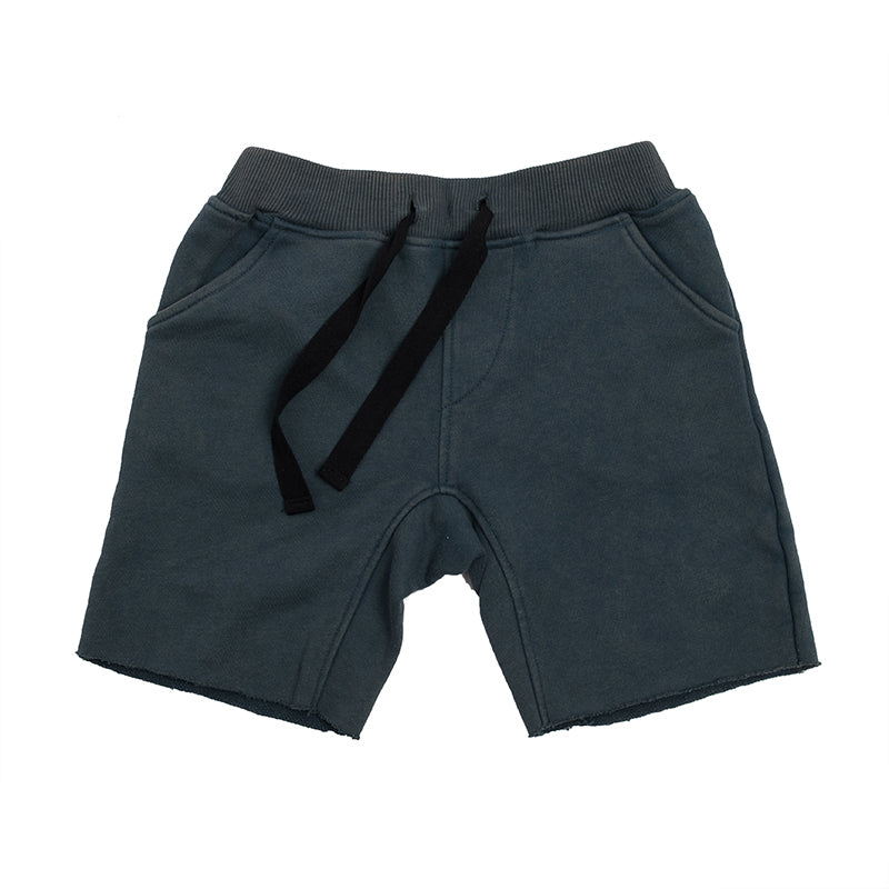 Hootkid | Skate Short - Washed Navy