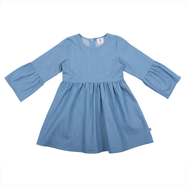 Hootkid | Penny Lane Day Dress - Chambray