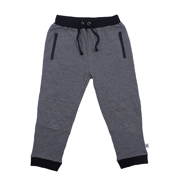 Hootkid | Stitches Weekend Pant - Dark Charcoal