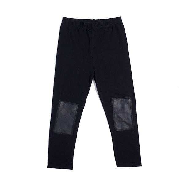 Hootkid | Patch Legging - Black