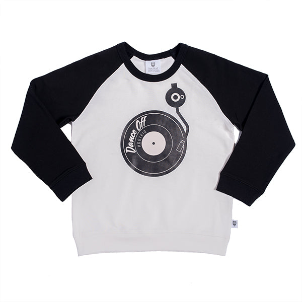 Hootkid | On the Decks Sweater - Warm White/Black