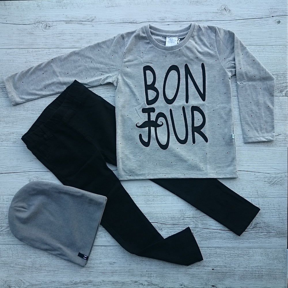 ALEX & ANT Bonjour Tee - Size 7 LAST ONE