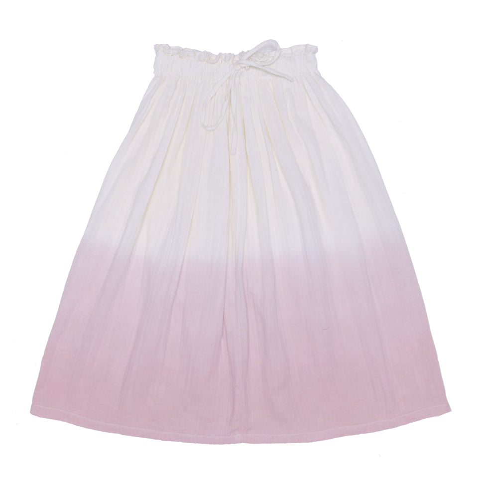 Alex & Ant | Ivy Skirt - Dusty Pink Dip Dye - Size 5 LAST ONE