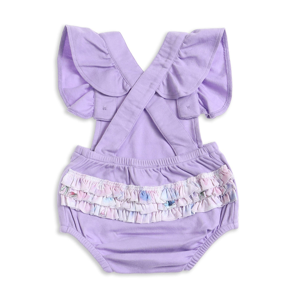 Aster & Oak | Unicorn & Fairy Ruffle Playsuit - LAST TWO