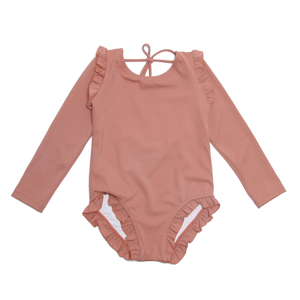 ALEX & ANT | Summer Long Sleeve Bathers - Honey