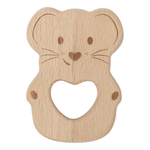 KIPPINS | Luna Kippin Natural Beech Wood Teething Toy