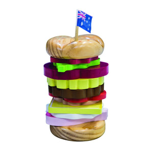 MAKE ME ICONIC | TOY STACKING - BURGER