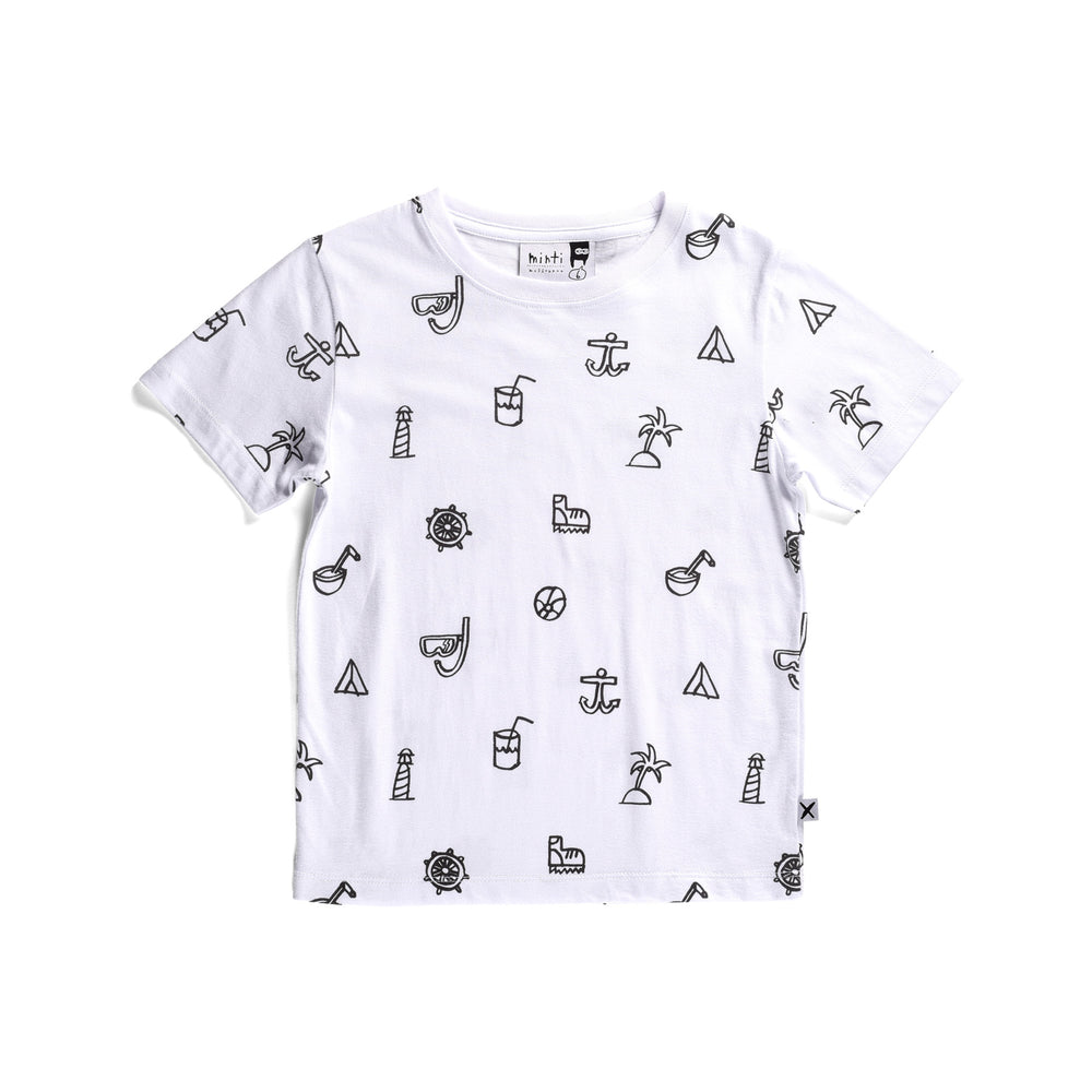 Minti | Summer Icons Tee - Size 7 LAST ONE