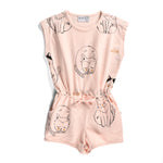Minti | I Heart Cats Playsuit - LAST TWO