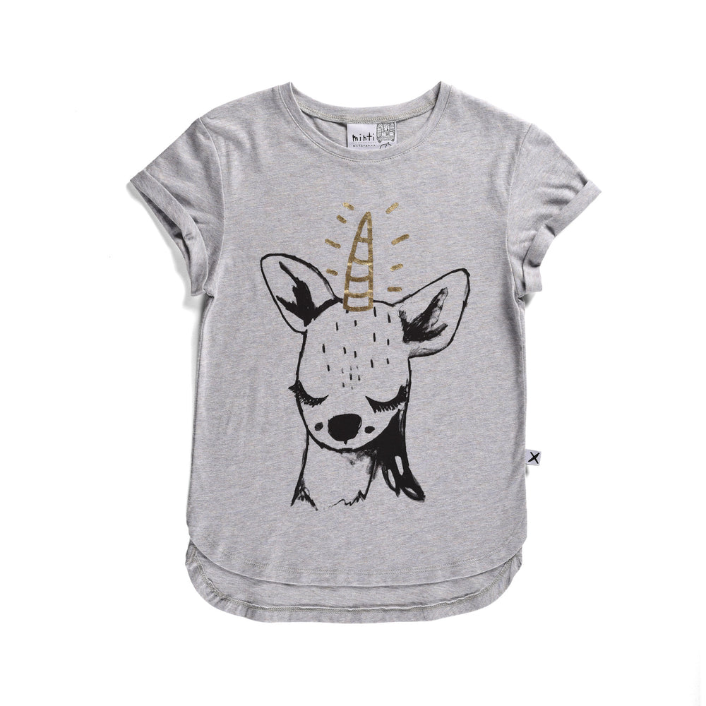 Minti | Sleepy Unicorn Tee - Size 1 LAST ONE