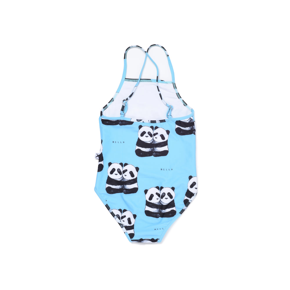 Minti | Panda Pair Swimsuit - Size 2 LAST ONE