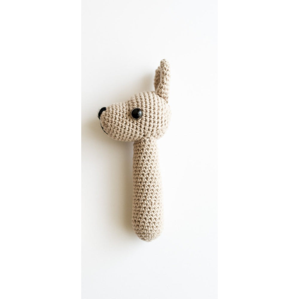Our Joey | Handmade Crocheted Joey Rattle