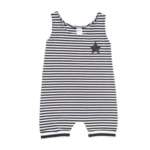 He and Her The Label | Pirate Stripe Muscle Romper